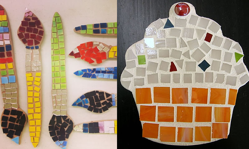 Brush with art mosaics mosaic art projects mosaic art projects at brush with art sciox Image collections